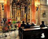 Casket Of Cardinal J.e. Tomas Spidlik