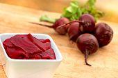 stock photo of beet  - Beet and beetroot - JPG