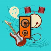 picture of baste  - bast set music icon collection the best deal for your design - JPG