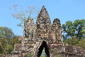 picture of southeast  - Gate to Bayon  - JPG