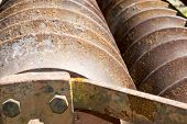 stock photo of machinery  - old agricultural machineries - JPG