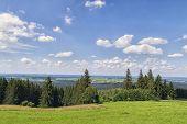 pic of bavaria  - Panorama landscape of landscape in Peissenberg Bavaria Germany - JPG