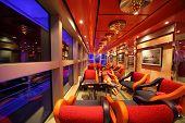in the interior of Costa Deliziosa - the newest Costa cruise ship