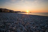 picture of costa blanca  - Sunrise on the calm waters of Altea bay Costa Blanca Spain - JPG