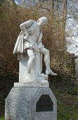 picture of william shakespeare  - Monument of William Shakespeare  - JPG