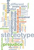 picture of stereotype  - Background concept wordcloud illustration of stereotype - JPG