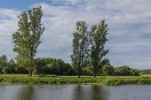 foto of bavaria  - The river Naab in Bavaria on a sunny summer day. Foto was taken on a little island in Fronberg next to Schwandorf in Bavaria. ** Note: Soft Focus at 100%, best at smaller sizes - JPG