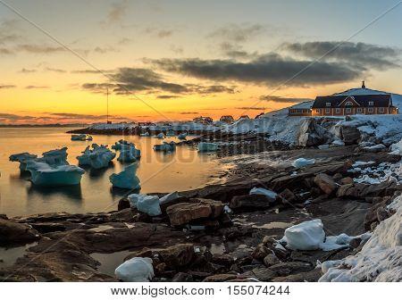 Nuuk city old