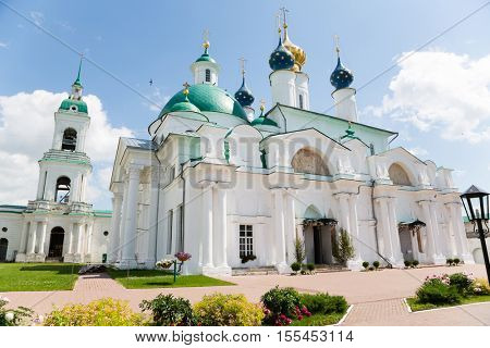 Kazan Convent In City Of Yaroslavl. Beginning of the construction is considered to be in 1610.