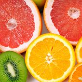 vruchten achtergrond
