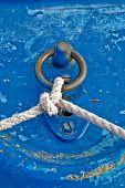Blue boat line