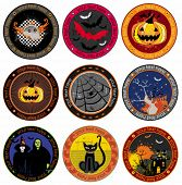 Hallooween Vector drink coasters. To see similar, please VISIT MY GALLERY.