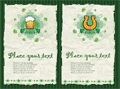 St. Patrick's Day  textured backgrounds. To see similar, please VISIT MY GALLERY.
