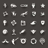 A collection of Design graphic elements.