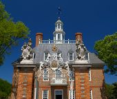 The Governor'S Mansion In Williamsburg Virginia, Usa