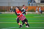 Girls Lacrosse eye on the ball