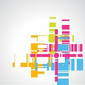 abstract vector colorful background design