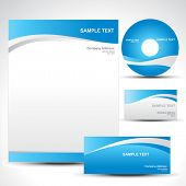 vector style template design set