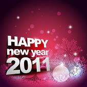 new year beautiful vector design