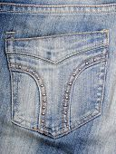 Jeans Hip Pocket