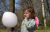 Child And Candyfloss