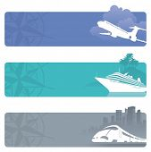 stock photo of float-plane  - Travel banners - JPG