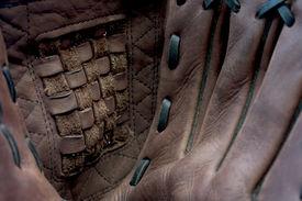 foto of fastpitch  - Close Up of Baseball  - JPG