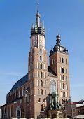 St Mary's Church In Krakow