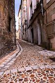 Medieval Street In France