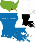 State of Louisiana, USA