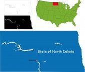 State of North Dakota, USA