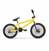 Vector realistic BMX bicycle.