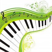 green music,rich background for your design