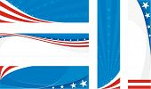 usa banners set
