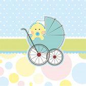 Baby boy banner