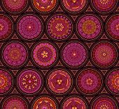 Seamless old-fashioned pattern