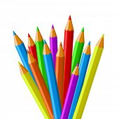 Colorful pencil vector collection