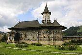 Sucevita Orthodox Painted Church Monastery, Moldavia, Bucovina, Romania poster