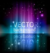 stock photo of north star  - vector shiny background - JPG