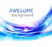 Vector awesome abstract blue backgrounds for business