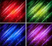 vector abstract colorful backgrounds collection