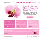 website template for beauties