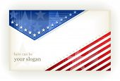 foto of american flags  - US american flag themed background - JPG