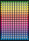 Coloured grid. A background color grid