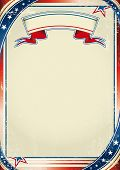 stock photo of arriere-plan  - Patriotic US background - JPG