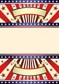 American dream flag. A background for your american poster.