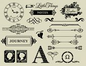 image of roman numerals  - Design Elements  - JPG