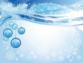 Bolas de Navidad de cristal azul
