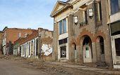 Row Of Old Buildings
