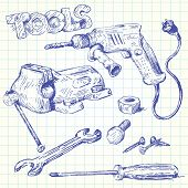 tools doodles